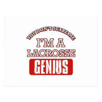 lacrosse genius postcards
