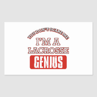 lacrosse genius rectangle stickers