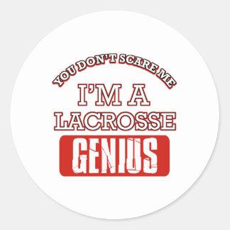 lacrosse genius stickers