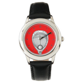 Lacrosse Goalie keepsake Watch