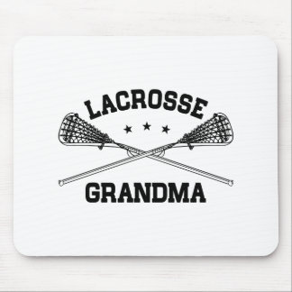 Lacrosse Grandma Mouse Pad