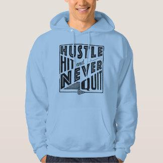 Lacrosse, Hustle Hit Never Quit Hoodie