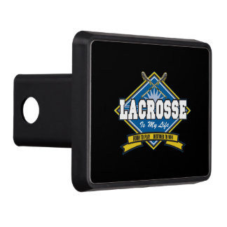 Lacrosse is My Life Tow Hitch Covers