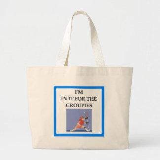 lacrosse large tote bag