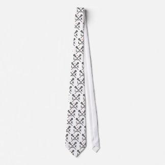 Lacrosse Lax Tie