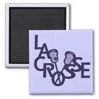 Lacrosse Letters Magnet