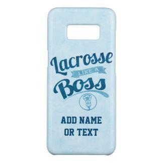 Lacrosse Like A Boss Case-Mate Samsung Galaxy S8 Case