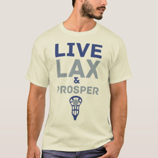 Lacrosse, Live LAX and Prosper Tee