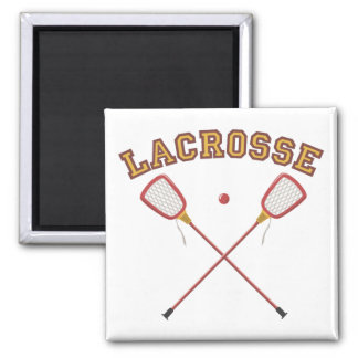 Lacrosse Magnets (gold)