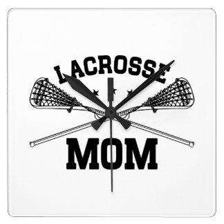 Lacrosse Mom Clock