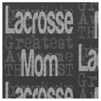 Lacrosse Mom Extraordinaire Fabric