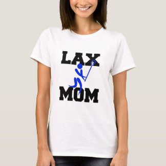 Lacrosse Mom in Blue T-Shirt