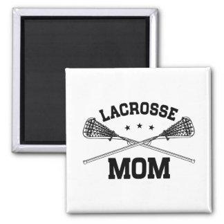 Lacrosse Mom Magnet