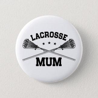Lacrosse Mum 2 Inch Round Button