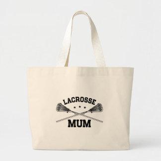 Lacrosse Mum Large Tote Bag