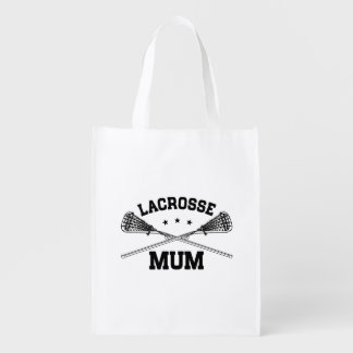 Lacrosse Mum Reusable Grocery Bag