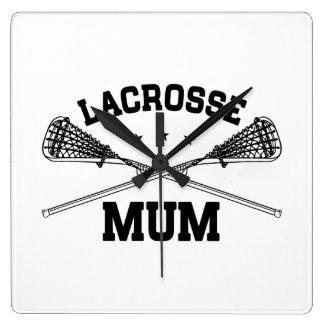 Lacrosse Mum Wallclock
