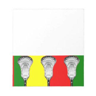 Lacrosse Notepad