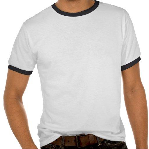 Lacrosse Player Blue Uniform T-shirts