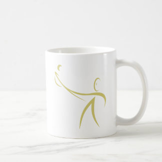 Lacrosse Player Icon Mugs