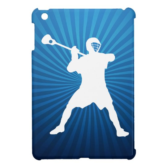 Lacrosse Player ipad mini case