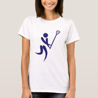 Lacrosse Player Pictograms of Olympic Sport T-Shirt