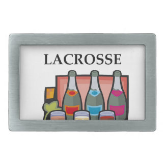 LACROSSE RECTANGULAR BELT BUCKLE