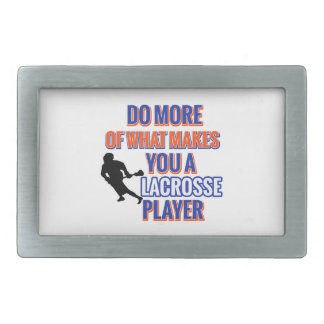 LACROSSE RECTANGULAR BELT BUCKLES