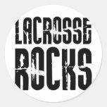 Lacrosse Rocks Sticker