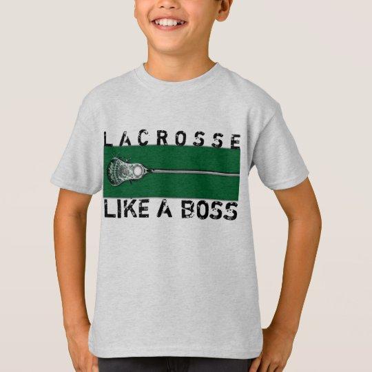 Lacrosse Slogan T-Shirt