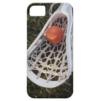 Lacrosse Stick and Ball iPhone 5 Covers