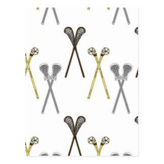Lacrosse Sticks Postcard