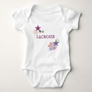 Lacrosse Swirl Baby Bodysuit