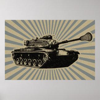 Lacrosse Tank Poster