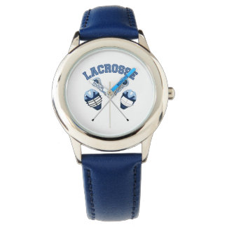 Lacrosse Tees and Gifts for Kids and Adults Wrist Watches