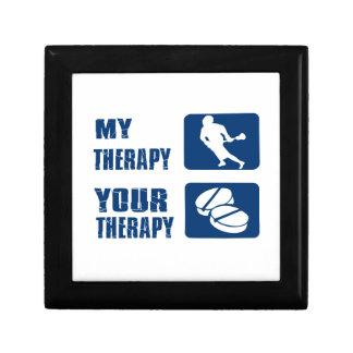 Lacrosse therapy designs jewelry box