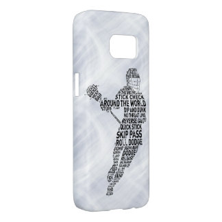 Lacrosse Typography Design Phone Cover