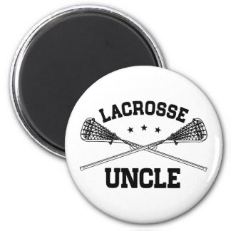 Lacrosse Uncle 2 Inch Round Magnet