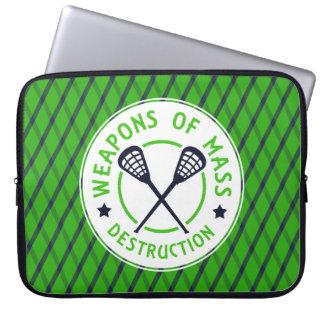 Lacrosse Weapons of Destruction Lapton Sleeve