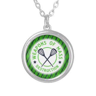 Lacrosse Weapons of Destruction Pendant