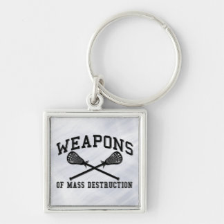 Lacrosse Weapons of Mass Destruction Keychain