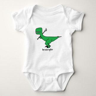 lacrossiraptor baby bodysuit