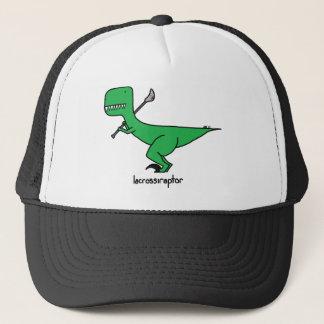 lacrossiraptor trucker hat