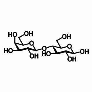 Lactose Milk Structure Photo Cutout