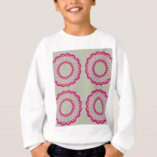 Lacy flowers sweatshirt