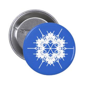 Lacy Snowflake Christmas Pin