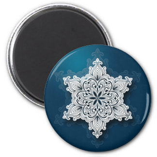 Lacy Snowflake Magnet