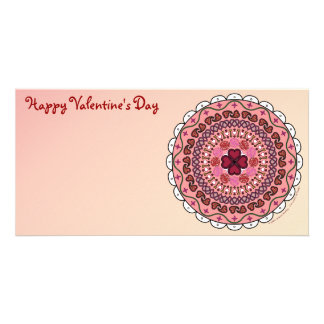 Lacy Valentine s Day Photo Card