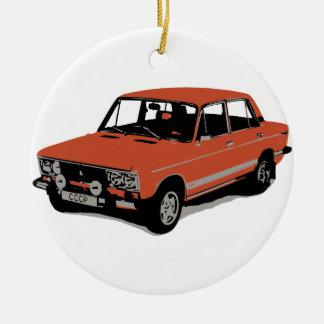 Lada - The Soviet Russian Car Ceramic Ornament