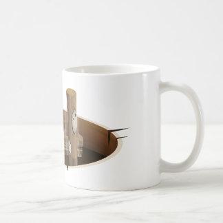 Ladder Classic White Coffee Mug